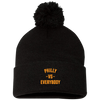 Philly vs. Everybody Pom Pom Knit Cap