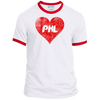 Philly Baseball Love Ringer Tee