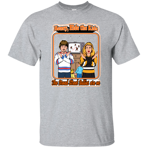 The Broad Street Bullies Are On T-Shirt - Generation T