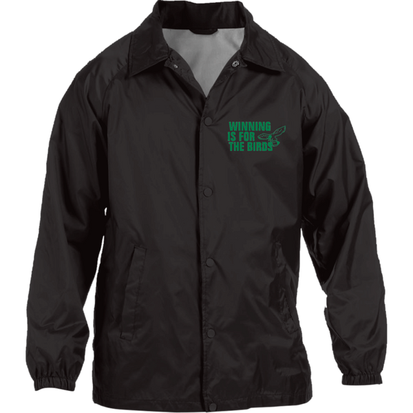 Winning Is For The Birds Nylon Staff Jacket - Generation T