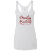 Presenting Beautifully Ladies' Triblend Racerback Tank