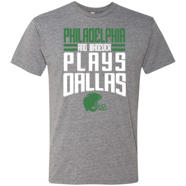 Whoever Plays Dallas Men's Triblend T-Shirt