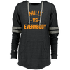 Philly vs. Everybody Ladies Hooded Low Key Pullover