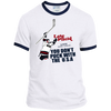 Vintage Inspired 1980 USA Hockey Ringer Tee - Generation T