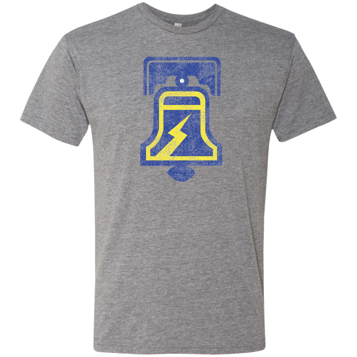 Retro WFL Philadelphia Bell Men's Triblend T-Shirt