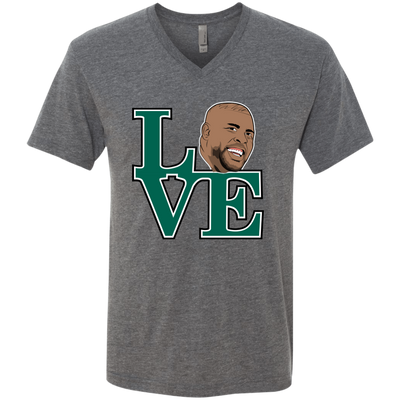 Reggie Love Men's Triblend V-Neck T-Shirt - Generation T