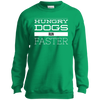 Hungry Dogs Run Faster Youth Crewneck Sweatshirt