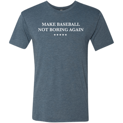 Make Baseball Not Boring Again V2 Men's Triblend T-Shirt