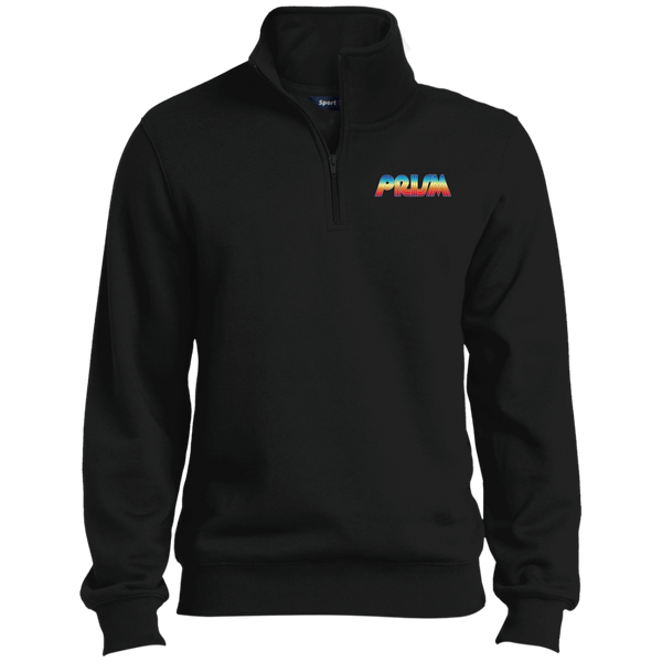 Retro Prism TV 1/4 Zip Sweatshirt
