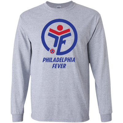 Retro Philadelphia Fever Inspired LS Ultra Cotton T-Shirt - Generation T