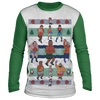 Retro Mike Tyson Punchout Ugly Christmas 'sweater' Long Sleeve