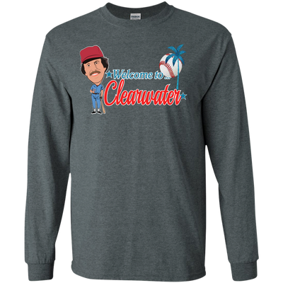 Welcome to Clearwater Long Sleeve T-Shirt - Generation T