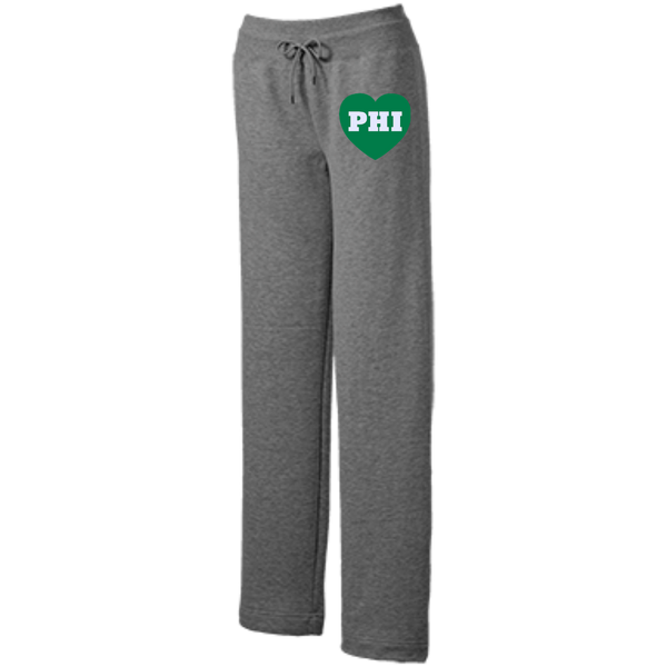 Philly Football Love Ladies' Open Bottom Sweats