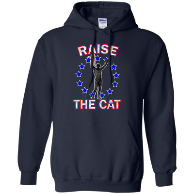 Philly Hoops Inspired Raise The Cat Pullover Hoodie - Generation T