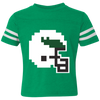 Retro Tecmo Birds 70s Edition Toddler Football Fine Jersey T-Shirt
