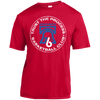 Process Hoops Club Red Youth Moisture-Wicking T-Shirt - Generation T