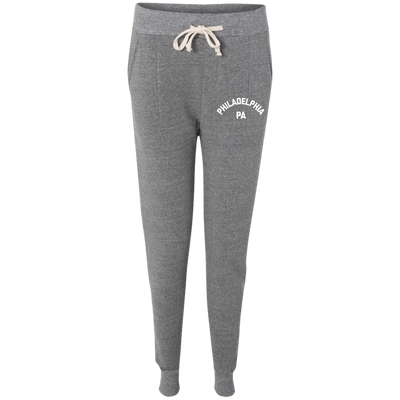 Retro Philadelphia PA Alternative Ladies' Fleece Jogger