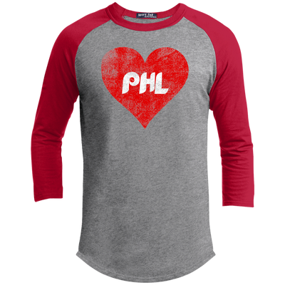 Philly Baseball Love Youth Sporty T-Shirt