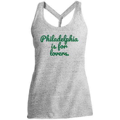 Philly is for Lovers Ladies Cosmic Twist Back Tank