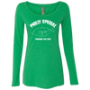 Philly Special Ladies' Triblend Long Sleeve Scoop - Generation T