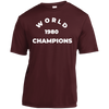 1980 World Champions of Baseball Youth Moisture-Wicking T-Shirt