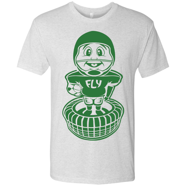 Philly Football Bobblehead Next Level Men's Tri-Blend Tee