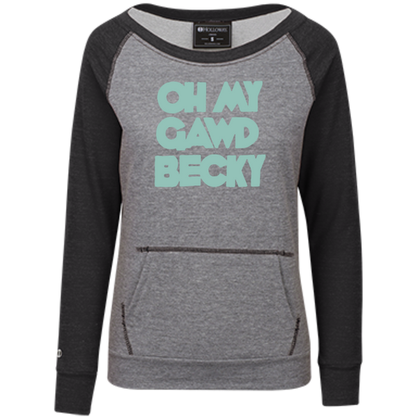 Oh My Gawd Becky Juniors' Vintage Terry Fleece Crew - Generation T