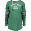 Bring It Home For Jerome Ladies Hooded Low Key Pullover