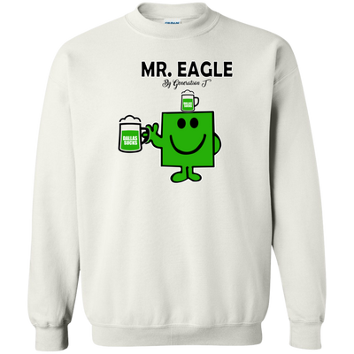Mr. Eagle Inspired Crewneck Pullover Sweatshirt - Generation T