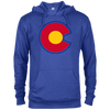 Retro Alternative Colorado Rockies Hockey French Terry Hoodie - Generation T
