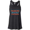 Philly Made Patriotic Flowy Racerback Tank