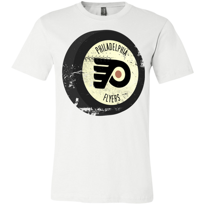 Old School Philadelphia Hockey Inspired Puck Youth Short Sleeve T-Shirt - Generation T
