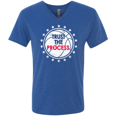 Trust the Process Playoff Edition Tri Blend Shirt