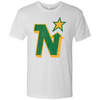 Minnesota North Stars Inspired Retro Men's Tri-Blend Tee - Generation T