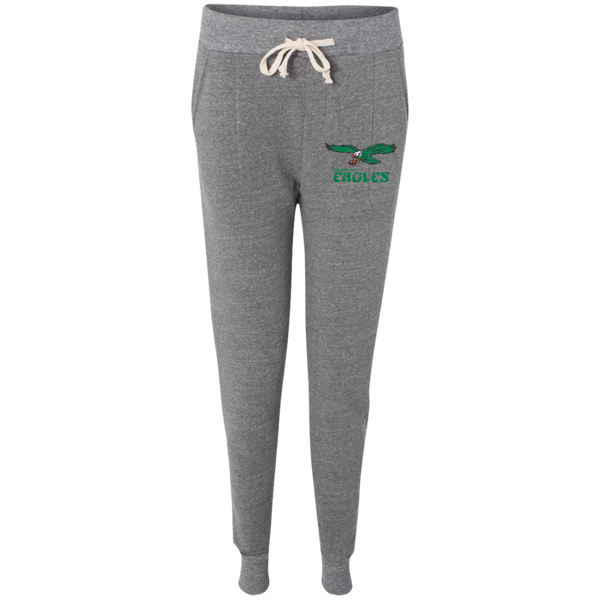Retro Philadelphia Eagles Inspired Alternative Ladies' Fleece Jogger - Generation T