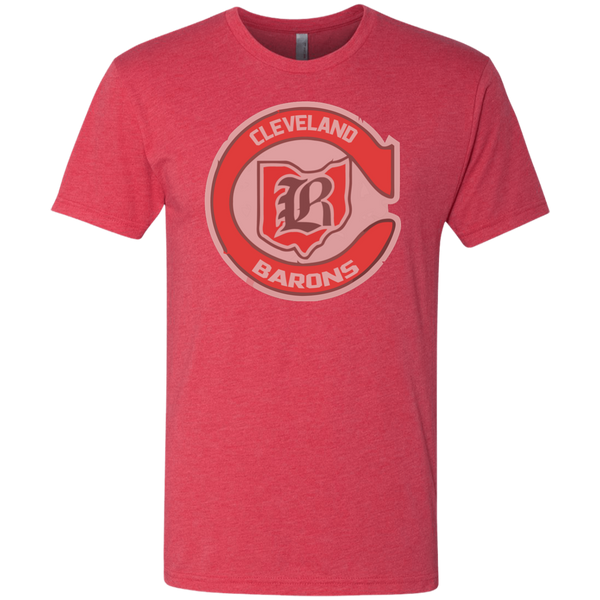 Retro Cleveland Barons Men's Triblend T-Shirt