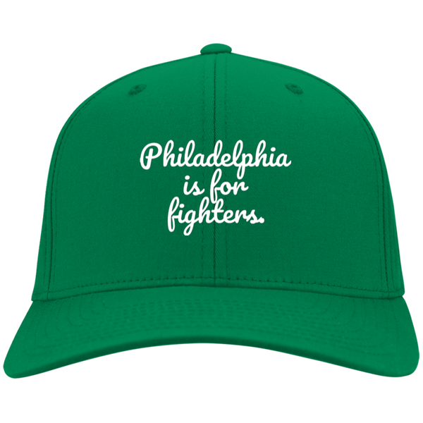 Philadelphia is for Fighters Embroidered Twill Cap - Generation T