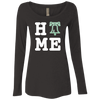 Philly Is Home Football Edition Ladies' Triblend Long Sleeve Scoop