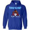 Retro Thump and Bump Inspired Pullover Hoodie