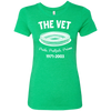 The Vet Football Edition Ladies' Triblend T-Shirt
