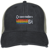 Retro Commodore 64 Distressed Trucker Cap