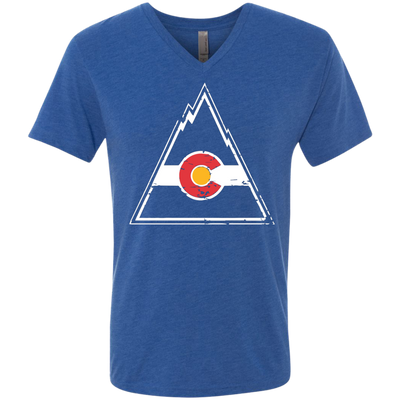 Retro Colorado Rockies Tri-Blend - Generation T