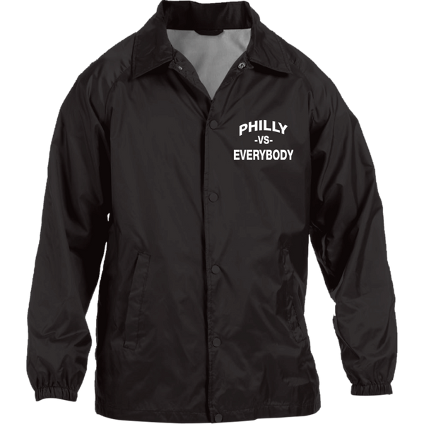Philly vs. Everybody Embroidered Nylon Staff Jacket - Generation T