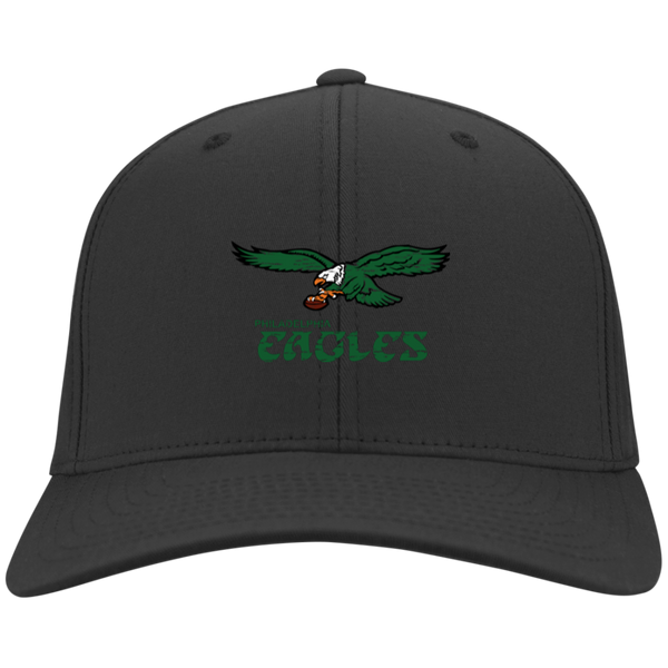 Retro Philadelphia Eagles Inspired Youth Dri-Fit Nylon Cap