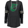 Old School E Ladies Hooded Low Key Pullover