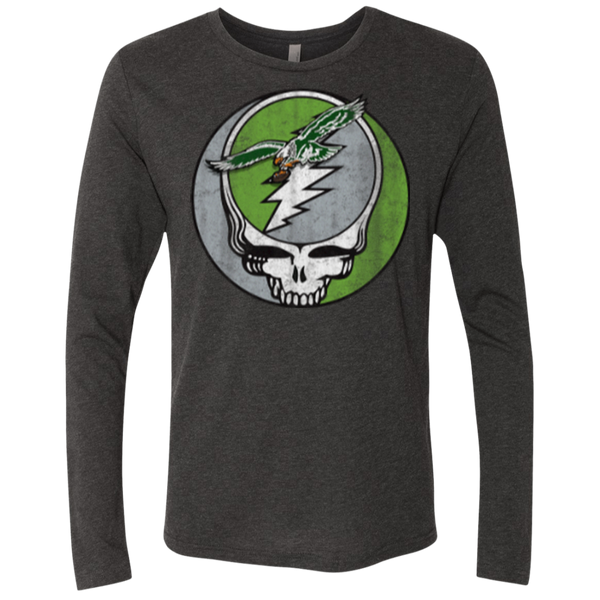 Stealadelphia Football Men's Triblend LS Crew