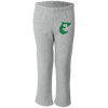 Retro Old School Big E Embroidered Youth Open Bottom Sweatpants