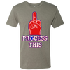 Philly Hoops Inspired Process This Men's Tri-Blend Tee - Generation T