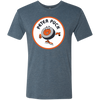 Non Distressed Retro Peter Puck Logo Tri Blend Tee - Generation T