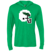 Tecmo Birds Unisex Triblend Long Sleeve Hooded T-Shirt